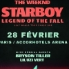 affiche THE WEEKND - STARBOY : LEGEND OF THE FALL