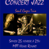 affiche Concert Jazz - Soul Cage Trio - Tribute to Sting