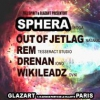 affiche Full Spirit & Glazart présentent Sphera Out of jetlag Rem Drenan
