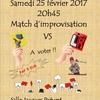 Match d'improvisation théâtrale dans le Pré (93)