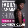 affiche FADILY CAMARA - SHOWCASE