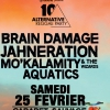 affiche ALTERNATIVE REGGAE PARTY # 10 - Brain Damage / Jahneration ...