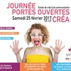 affiche Journée Portes Ouvertes Créa - Campus Eductive Paris Montrouge - ESUPCOM' EFFICOM