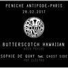 affiche Butterscotch Hawaiian x Sophie de Quay feat. Ghost Side