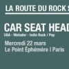affiche LA ROUTE DU ROCK SESSION | CAR SEAT HEADREST