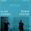 affiche ALAN CORBEL + ROBIN FOSTER - MÉLODYN NIGHT #1 - RELEASE PARTY