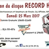 affiche Salon du disque RECORD HOP