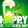 affiche HAPPY SAINT PATRICK : Free & Beer !