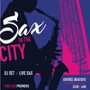 affiche SAX IN THE CITY