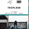 affiche Triplego @ Le Pop Up du Label