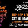 affiche HELLO PANAM x JUSTE DEBOUT : The Official Juste Debout Before Party