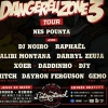 affiche Dangereuzone 3 Tour ft/ Darryl Zeuja (1995) & more