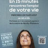affiche Recrutement express