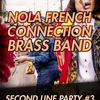 affiche SECOND LINE PARTY 3#: Nola French Connection Brass Band
