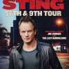 affiche STING - 57TH & 9TH TOUR