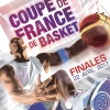 affiche PACKAGE COUPE DE FRANCE DE BASKET