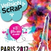 affiche VERSION SCRAP - SALON DU SCRAPBOOKING