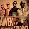 affiche AWEK + ELISE & THE SUGARWSEETS