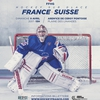 affiche Hockey sur Glace / FRANCE vs SUISSE