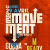 affiche The Movement / Gonna Get Yours / The Ready Mades