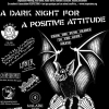 affiche A Dark Night For Positive Attitude I avec Omega Tribe guests