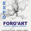 affiche Forg'Art - Expositions d'artistes professionnels et amateurs