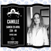 affiche Camille (Chair Faible) djset au Demory