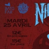 affiche Concert: Nightstalker / LDDSM / Dead Acid People @Batofar (Below The Sun)