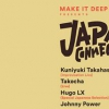 affiche Japan Connection:  Kuniyuki Takahashi / Takecha / Hugo LX / Johnny Power
