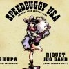 affiche SpeedBuggy + Shupa + Riquet Jug Band