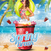 affiche SPRING BREAK PARTY