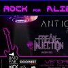 affiche Rock for Aliens : Antigone Project, Freak Injection, Pink Noise Party @Batofar