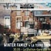 affiche Winter Family + LA TERRE TREMBLE !!