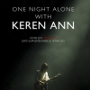 affiche KEREN ANN - One Night Alone with