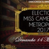 affiche ELECTION MISS CAMEROUN METROPOLE - 2017
