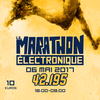 affiche Marathon Electronique 42.195 Paris Acid Boys & Peev