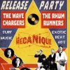 affiche The Rhum Runners + The Wave Chargers (Release Party)