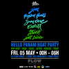 affiche Hello Panam Boat Party