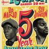 affiche LA REUNION PARTY : 5 YEAR ANNIVERSARY