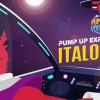 affiche PUMP UP EXPLORATION #01 - ITALO DISCO EDITION !