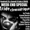 affiche Acide Clownidrique Week-End Spécial !!
