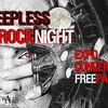 affiche Sleepless Rock Night