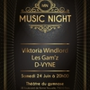 affiche Music Night