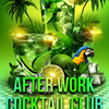 affiche After work cocktail club