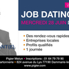 affiche Premier job dating a Pigier Melun