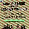 affiche KING GIZZARD & THE LIZARD WIZARD