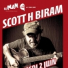 affiche Scott H. Biram + The Pullmen
