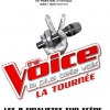 affiche THE VOICE - LA TOURNEE - LA PLUS BELLE VOIX