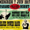 affiche PANAME BLUES NIGHT 6 - COTTON BELLY'S, BPB, HOT GANG