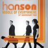 affiche HANSON - MIDDLE OF EVERYWHERE TOUR